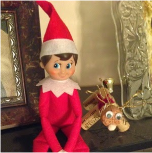 Donny the Elf, with his little pal Corky.
