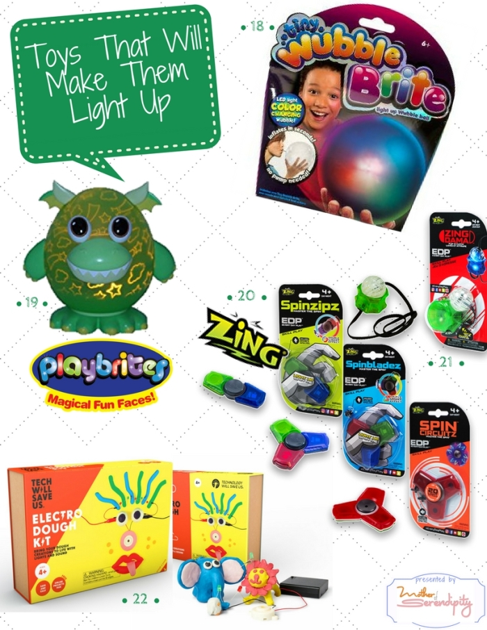 Toys that Will Make Them Light Up 2017